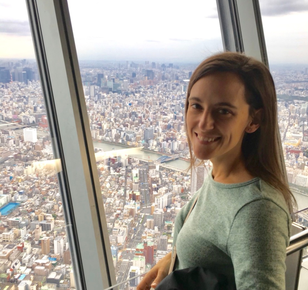 A view over Tokyo from Tokyo Skytree
